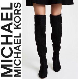 777ba140cc9 MICHAEL Michael Kors Shoes - Michael Michael Kors Jamie Mid Boot Suede 5.5